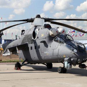 Масштабные модели (макеты) боевых вертолетов Воздушно-Космических Сил РФ